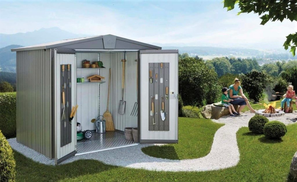 3 zalety, za które pokochasz metalowy garaż ogrodowy firmy Biohort