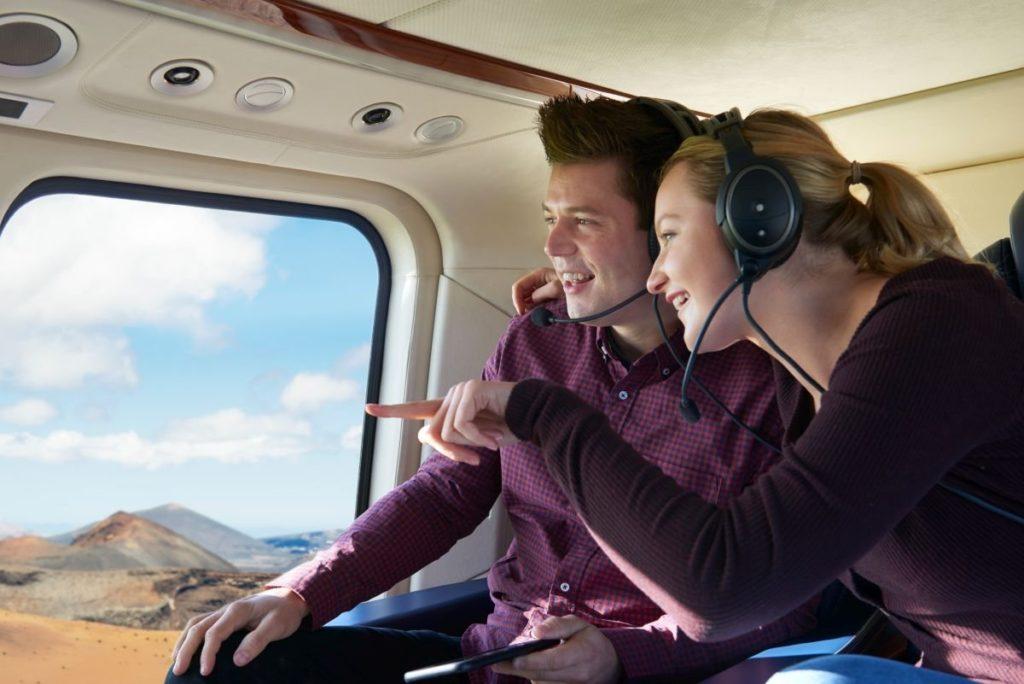 Lot helikopterem dla dwojga